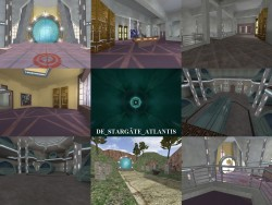 Counter Strike 1.6 - Mapa Stargate Atlantis